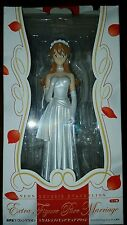 Shop Display 1/7 Neon Genesis Asuka In Wedding Dress Figure Sega