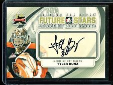 2011-12 ITG Between the Pipes Goaliegraph Autograph #A-TB  Tyler Bunz