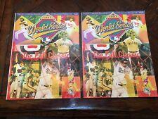 1997 World Series Official Programs - Florida Marlins vs. Cleveland Indians