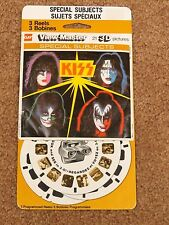 KISS CANADIAN VIEWMASTER SET ON CARD AUCOIN 1979