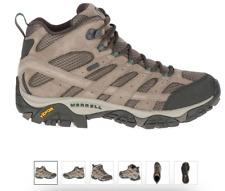 Merrell Moab 2 MID WP/Boulder Hiking Boot Shoe Men's sizes 7-15 WIDE/NEW!!