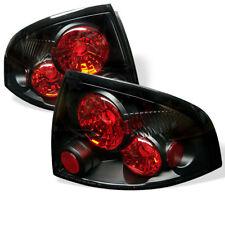 Fit Nissan 00-03 Sentra Black Euro Style Rear Tail Light Brake Lamp Set