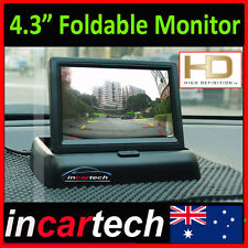 """4.3"""" TFT 16:9 Foldable LCD Screen Monitor for Car Rear Reverse Rearview Camera"""