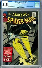 Amazing Spider-Man #30 CGC 5.5 (W) 1st Appearance of the Cat Burglar