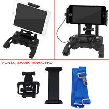 "4.6~12""Holder+Lanyard Phone Tablet Adapter Bracket For DJI Mavic Pro Spark Drone"