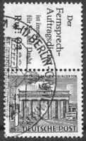 Berlin Zusammendruck S 9 (mit R 6) gestempelt Grunewald Sonderstempel SST Luxus