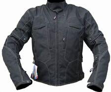 Blousons noir taille coude pour motocyclette