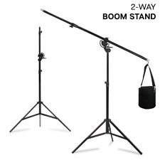 Heavy Duty Umbrella Softbox Flash Light Boom Light Stand Kit for Photo and Video