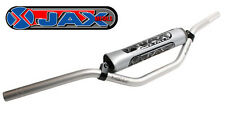 "JAX METALS MOTOCROSS ZX9 HANDLEBARS MINI BAD BOY 87SR SILVER 7/8"" off road 22mm"