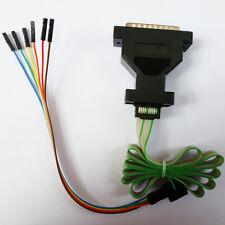 XILINX Parallel LPT JTAG Programmer CPLD XC2C64A Matrix Glitcher Connector