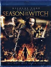 Season of the Witch( NEW Blu-ray Disc)NICOLAS CAGE,RON PERLMAN,CHRISTOPHER LEE!