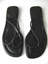 BALLY BROWN WOVEN LEATHER SANDALS SIZE US 8 / EU 38 1/2 ,NWOB , MADE IN ITALY