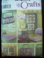 Simplicity Crafts Pattern 5932 Shirley Botsford Quilting Accessories UC/FF NOS
