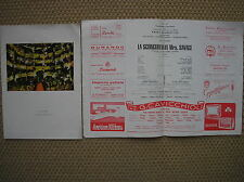 TEATRO CARIGNANO TORINO PROGRAMA 1957 EMMA GRAMATICA LA DE DESCONCIERTO M.