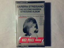 BARBRA STREISAND The second album mc cassette SIGILLATA SEALED!!!