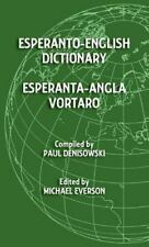 Esperanto-English Dictionary: Esperanta-Angla Vortaro (Hardback or Cased Book)