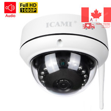 HD Security Dome Camera 1080P Wireless IP Camera WiFi Surveillance System wit...