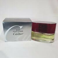 Must De Cartier Pour Homme 3.3 oz / 100 ml Eau De Toilette spray for men