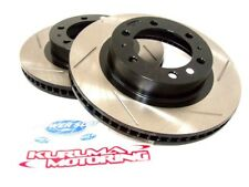 POWER SLOT SLOTTED SPORT BRAKE ROTORS - FRONT