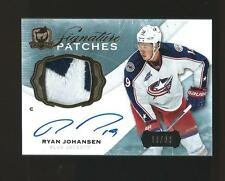 RARE RYAN JOHANSEN THE CUP AUTOGRAPH JERSEY CARD LOW SERIAL NUMBER BLUE JACKETS