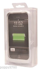 MOBILAIR 1400mAh Powerbank External Battery Charging Case for iPhone 4 4S White