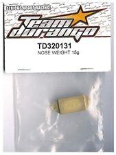 RC Team Durango TD320131 Metal 15g Alloy Nose Weight DEX210 DESC210 DEST210 R F