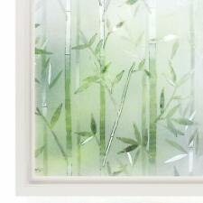 rabbitgoo Window Film 3D Decorative Glass Film, No Glue Privacy Frosted Film for