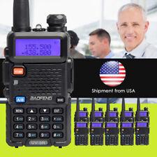 5PCS Hot Black Portable Radio Baofeng UV-5R  two- way Ham radio Walkie  Talkie