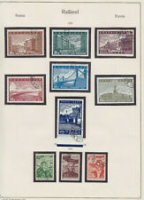 RUSSIA 1939, COMPLETE YEAR SET, USED FINE