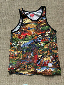 Supreme Tahiti Tank Top Vest T Shirt M - MEDIUM