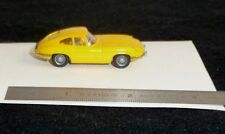 YELLOW JAGUAR E TYPE COUPE' WIKING 1:87 SCALE XKE FHC