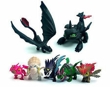 7pcs Set PVC Action Figure Toy How to Train Your Dragon2 Doll Toothless