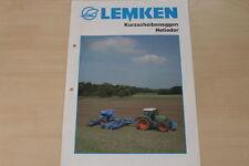 158091) Lemken Kurzscheibenegge Heliodor Prospekt 06/2006