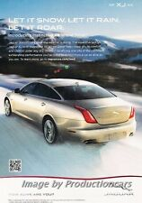 2013 Jaguar XJ Supercharged Original Advertisement Print Art Car Ad J675