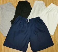 100% Cotton Shorts No Pockets w/ Drawstring. Adult sizes small to 4x
