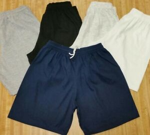 100% Cotton Shorts No Pockets w/ Drawstring. Young adult sizes small to 4x