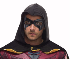 DC Batman Arkham Adult Robin Mask Licensed Exclusive 01279496 New