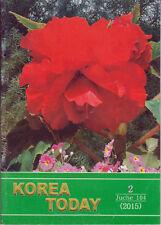 Rare Communist Propaganda magazine North KOREA TODAY February 2015 DPRK