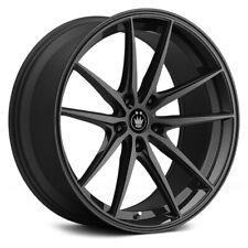 Konig OVERSTEER Wheels 19x8.5 (45, 5x114.3, 73.1) Black Rims Set of 4
