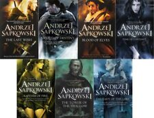 Andrzej Sapkowski 7 Book Set Collection (Witcher Series) RRP: 62.93
