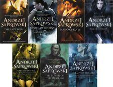 Andrzej Sapkowski 7 Libro Juego Colección (Witcher SERIE) PVP: 62.93