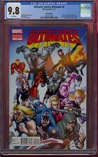 ULTIMATE COMICS ULTIMATES #4 CGC 9.8 1:50 VARIANT (2012) SECRET WARS COMIC KINGS