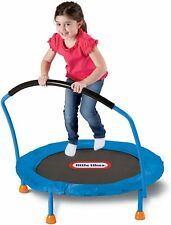Little Tikes 3' Blue Trampoline Easy Hand Rail