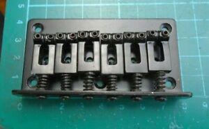 Electric guitar bridge strat type x 1 unused in black