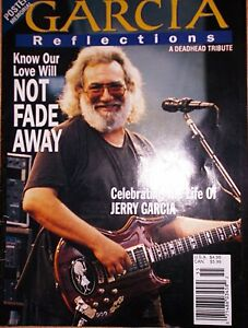 JERRY GARCIA Reflections A Deadhead Tribute  Grateful Dead 1995 Memorial Magazin