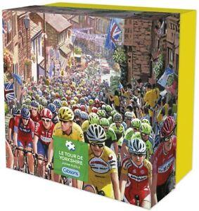 Gibsons Le Tour de Yorkshire 500 Piece Gift Jigsaw Puzzle