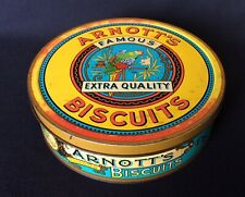 Arnott's Collectable  Federation Biscuit Tin Featuring Parrot.
