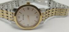 Ladies Bulova Diamond Gallery Diamond Watch 98S115  (375D)