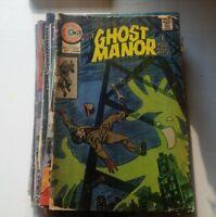 Ghost Manor #25 1975 steve ditko cover comic book charlton spiderman dr strange!