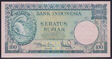 Indonesia 100 Rupiah 1957, EF, Pick 51